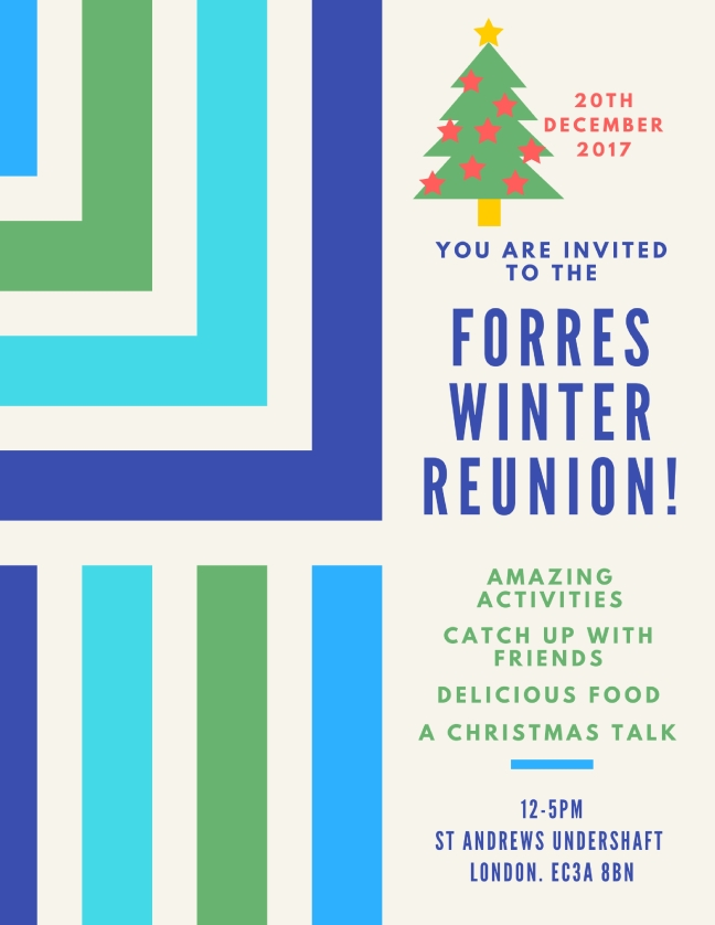 Forres Reunion 2017